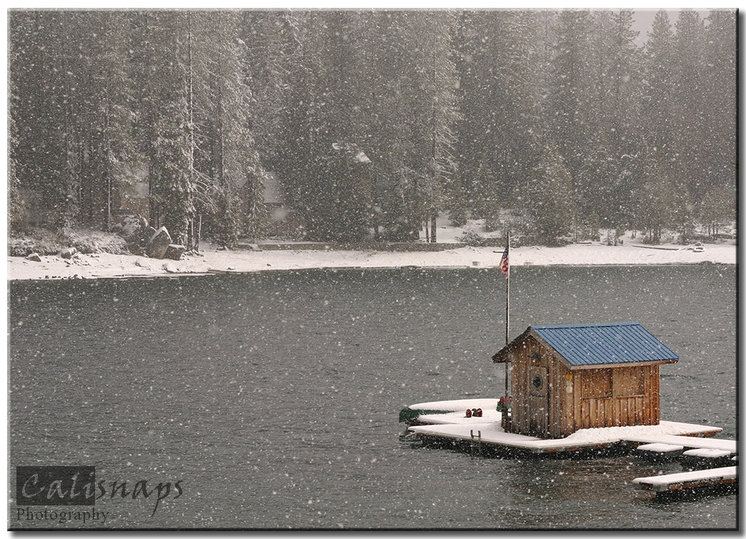 Shaver Lake Snow Storm